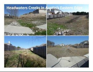 East creeks
